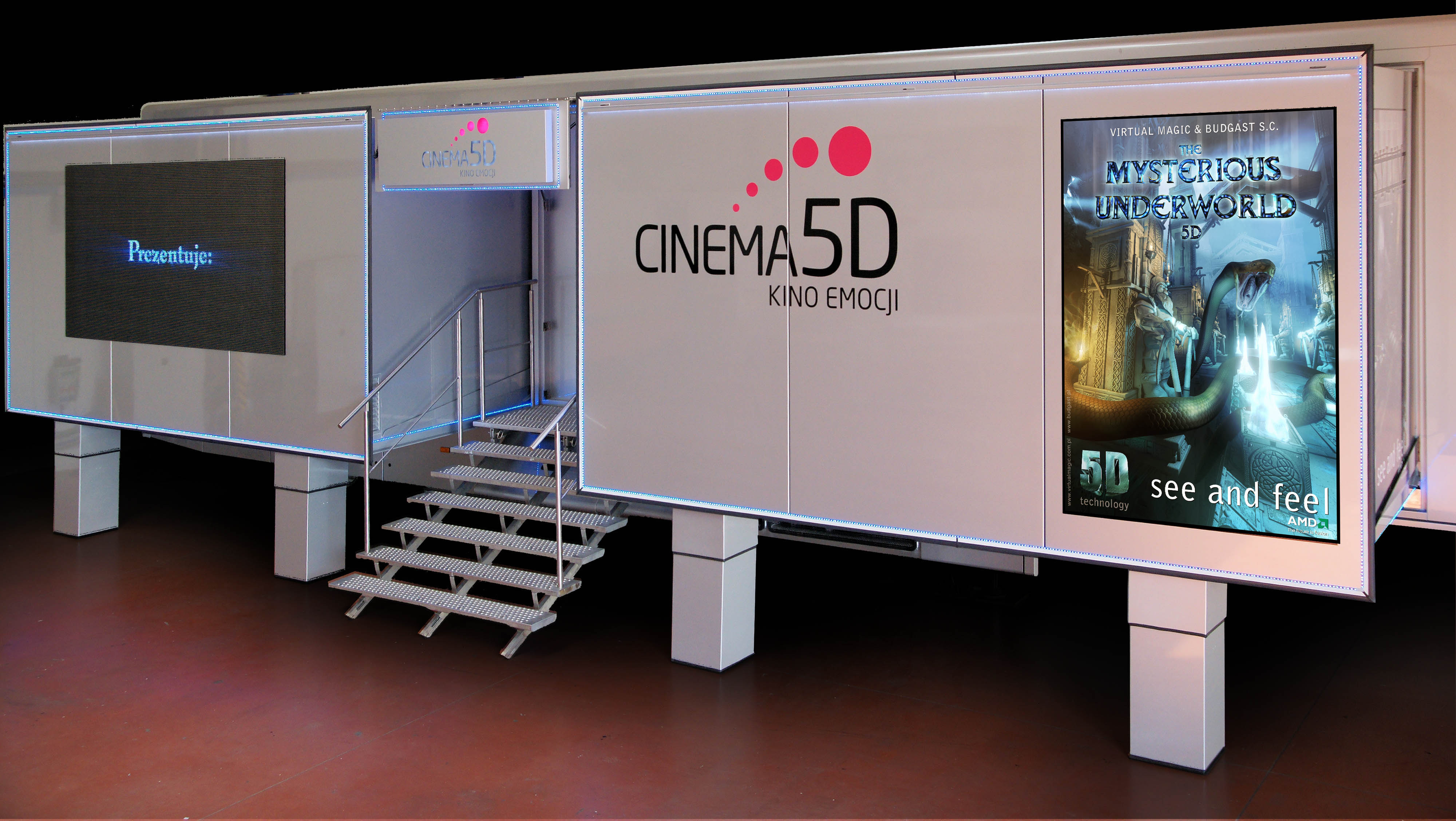 Mobile 5d Cinema 187 Matrix Technology